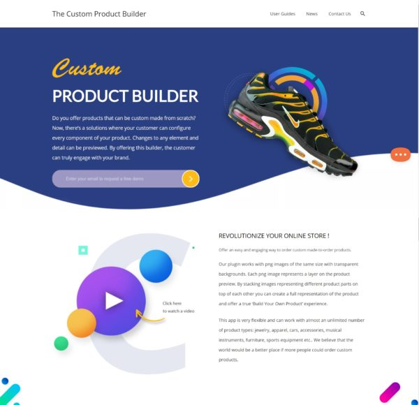 The Custom Product Builder
